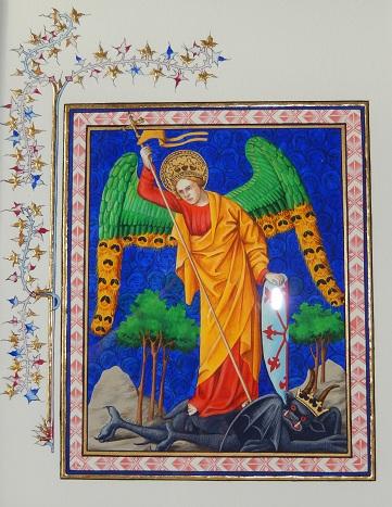 悪魔に勝つ大天使ミカエル